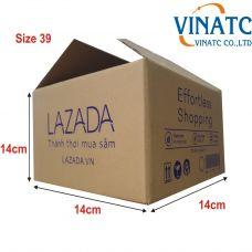 Thùng carton 14x14x14cm