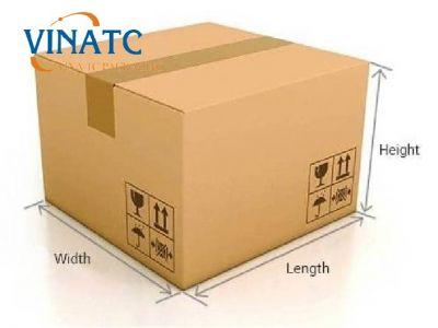 Cách đo kích thước thùng carton cần để vận chuyển hàng