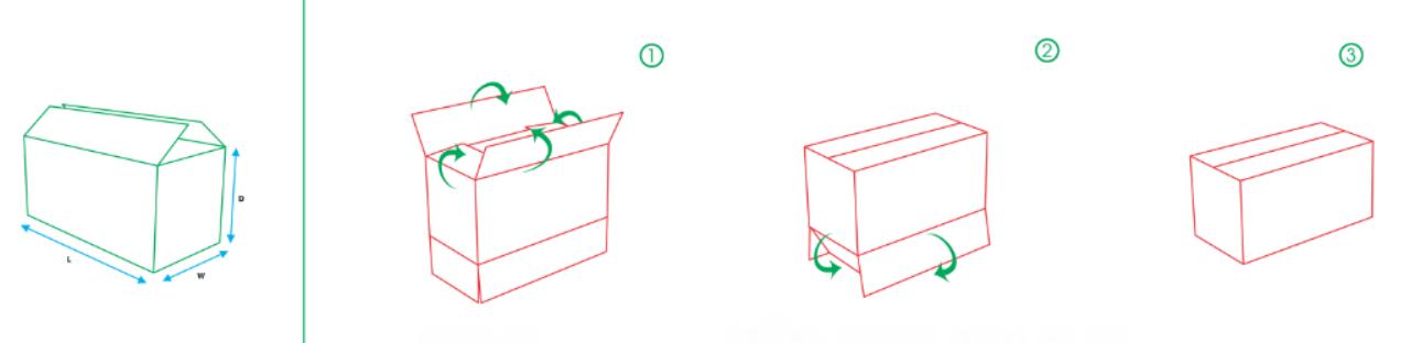 Hộp carton chuẩn đóng gói hàng